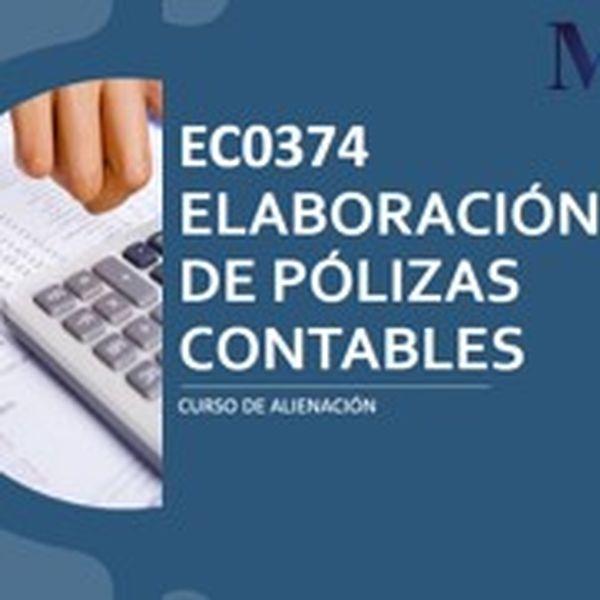 Imagem principal do produto EC0374 Elaboración de Pólizas Contables
