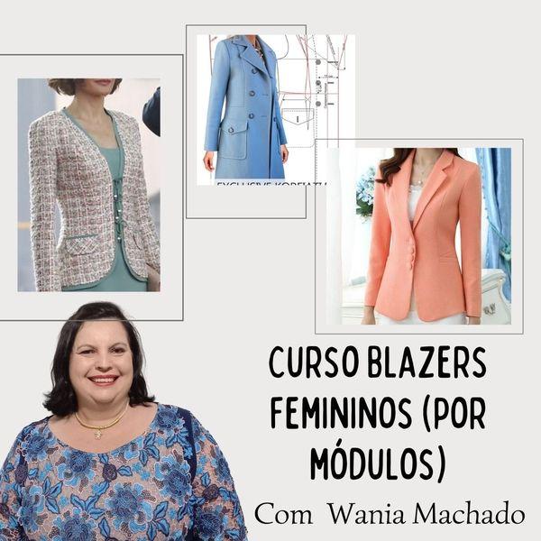 Imagem principal do produto Blazers Femininos (por módulos)
