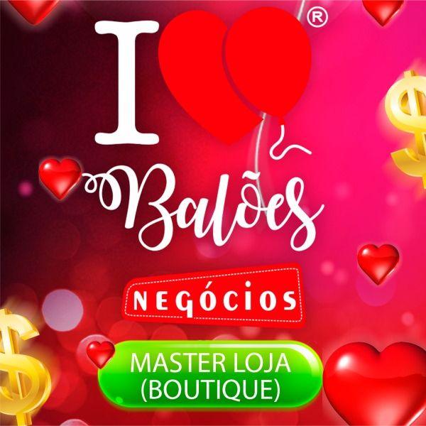 Imagem principal do produto LOJA -Boutique - Modelo de Negócio I Love Balões
