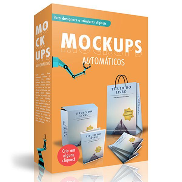 Imagem principal do produto Como fazer Mockups profissionais automaticamente no Photoshop