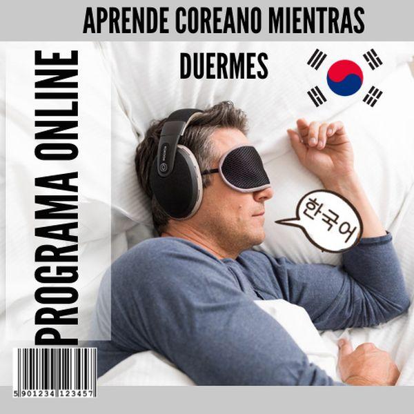 Imagem principal do produto Aprende coreano mientras Duermes