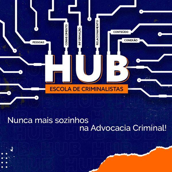 Imagem principal do produto HUB - Escola de Criminalistas