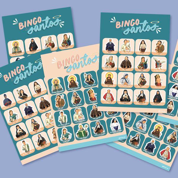 Imagem principal do produto Bingo dos Santos