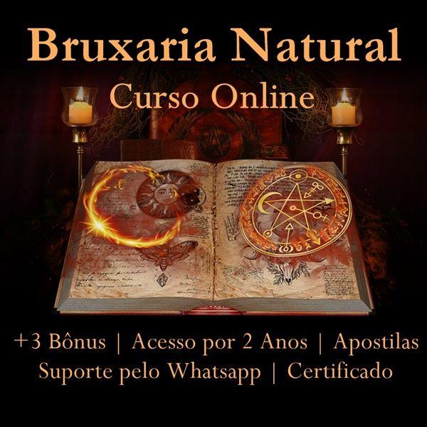 Imagem principal do produto Curso de Magia e Bruxaria Natural