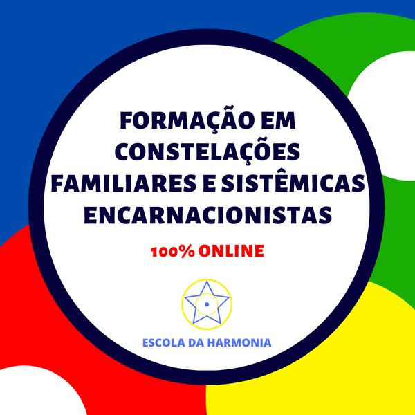 Imagem principal do produto Formação Constelações Familiares E Sistêmicas Encarnacionistas