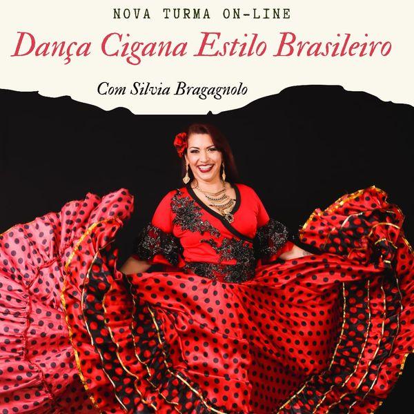 Imagem principal do produto Dança Cigana Estilo Brasileiro - Silvia Bragagnolo