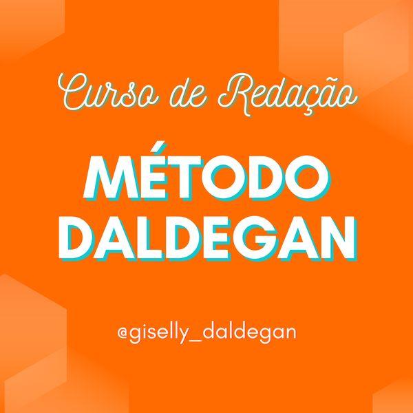 Imagem principal do produto Curso de Redação Método Daldegan