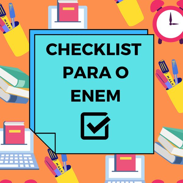 Imagem principal do produto Checklist ENEM!