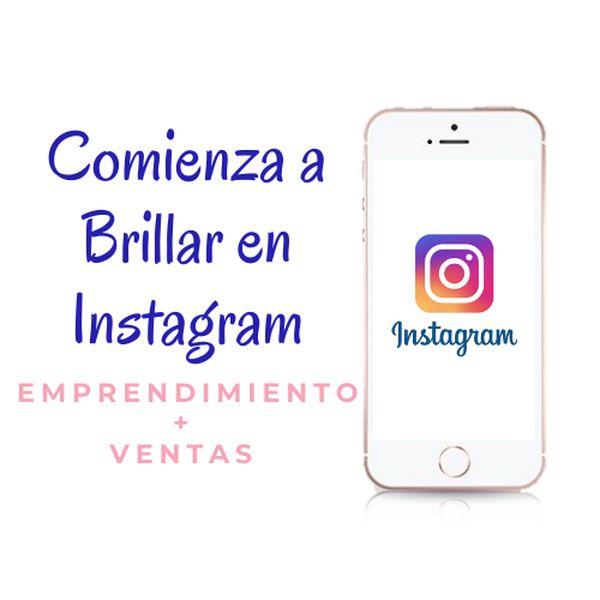 Imagem principal do produto Comienza a Brillar en Instagram
