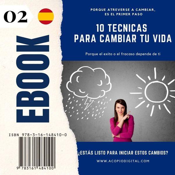Imagem principal do produto ebook: 10 técnicas para cambiar tu vida