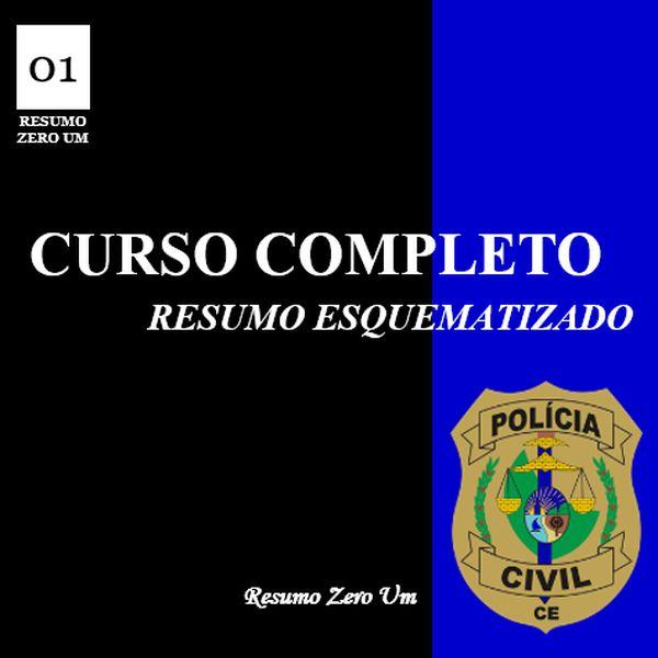 Imagem principal do produto CURSO COMPLETO para Inspetor de Polícia PC/CE
