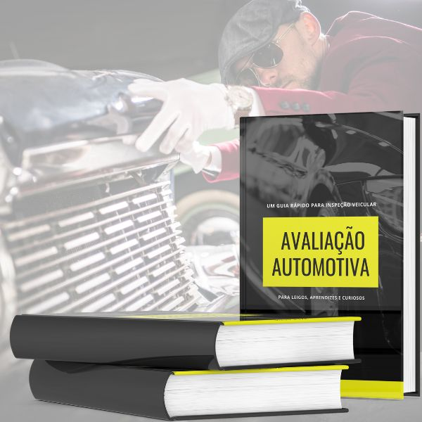 Imagem principal do produto Avaliação Automotiva, um guia rápido para inspeção veicular, para leigos, aprendizes e curiosos.