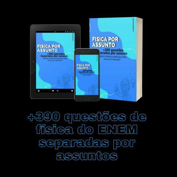 Imagem principal do produto ENEM - Física por assunto (+390 questões)