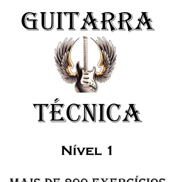 Imagem principal do produto Guitarra - Estudos para o desenvolvimento da técnica