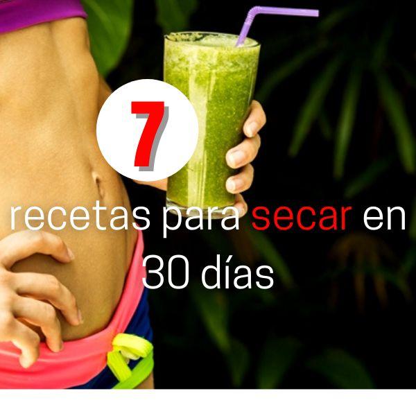 Imagem principal do produto 7 recetas para secar en 30 días
