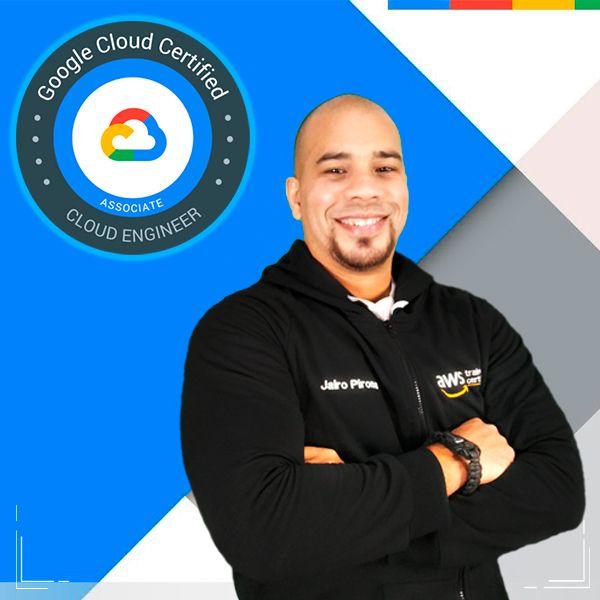 Imagem principal do produto Google Cloud Certified Associate Cloud Engineer 2021 Español