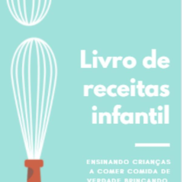 Imagem principal do produto Livro de receitas infantil