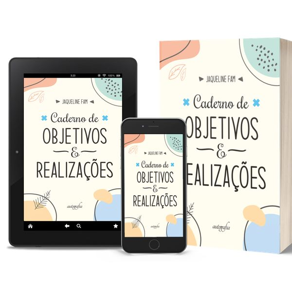 Imagem principal do produto CADERNO DE METAS E REALIZAÇÕES DIGITAL