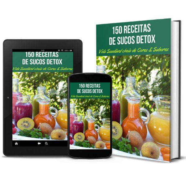 Imagem principal do produto 150 Receitas de Sucos Detox