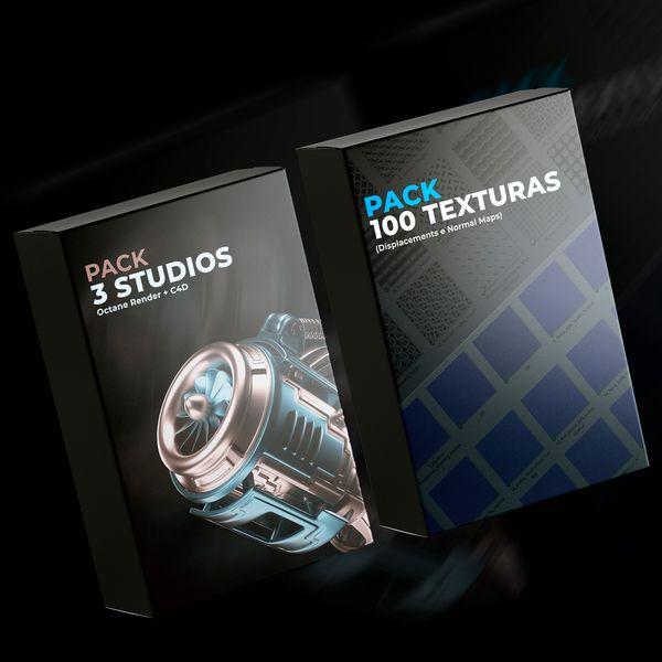 Imagem principal do produto Combo Promocional (Pack 01 + Pack 02)