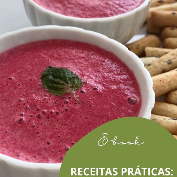 Imagem principal do produto E-book Receitas Práticas: Seja Saudável!