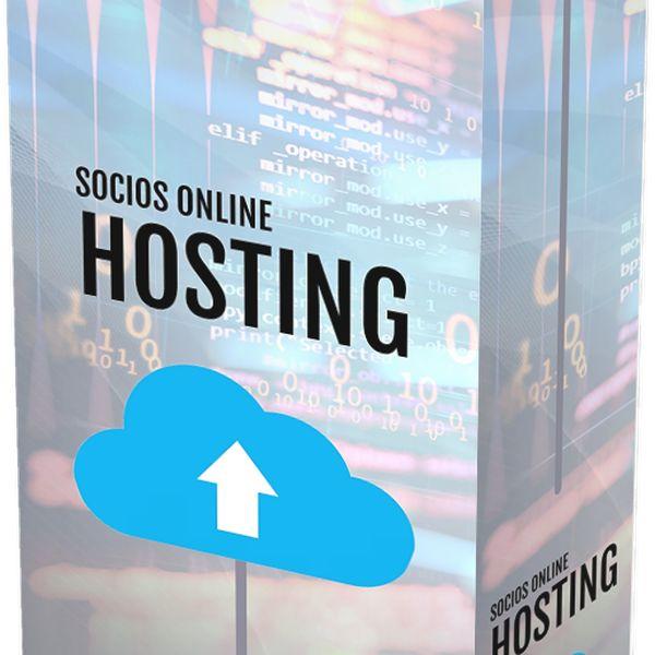 Imagem principal do produto Hosting y Constructor de Página de Socios Online™