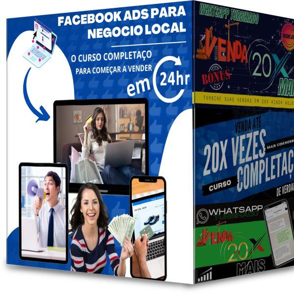 Imagem principal do produto Facebook ADS e WhatsApp Turbinado para Negócio Local