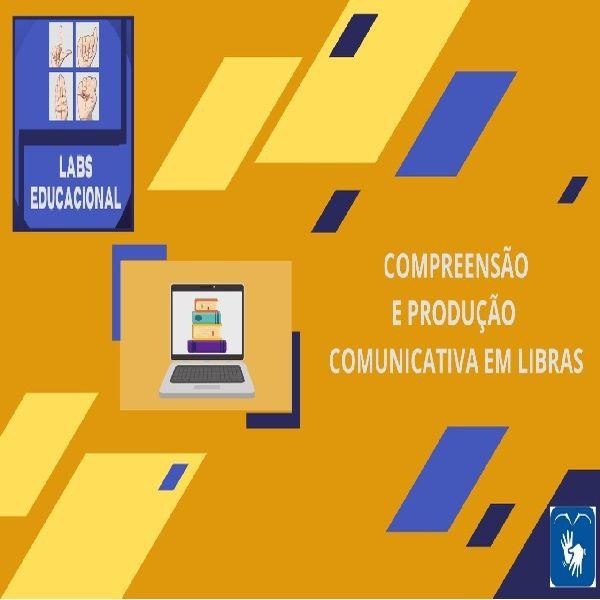 Imagem principal do produto Curso de compreensão e expressão comunicativa em Libras