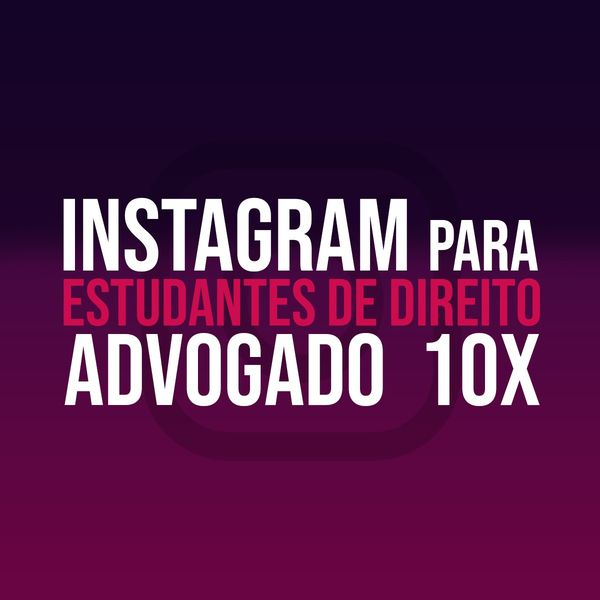 Imagem principal do produto Instagram Para Estudantes de Direito