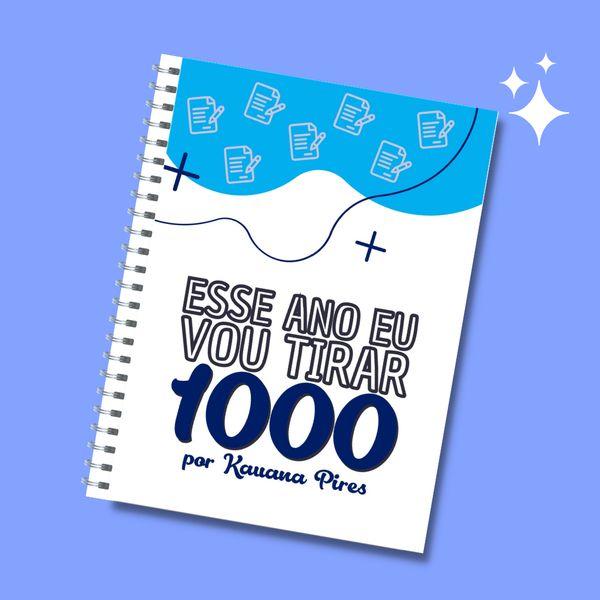 Imagem principal do produto Ebook de redação nota 1000