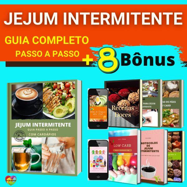 Imagem principal do produto Jejum Intermitente - Guia Completo Passo a Passo