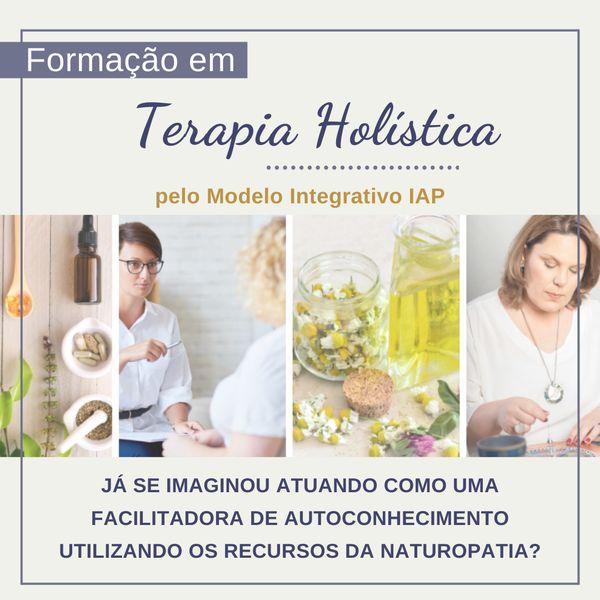 Imagem principal do produto Formação em Terapia Holística pelo Modelo Integrativo IAP