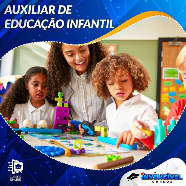 Imagem principal do produto Berçarista e Auxiliar de Ed. Infantil + 4 Profissões + 3 Brindes