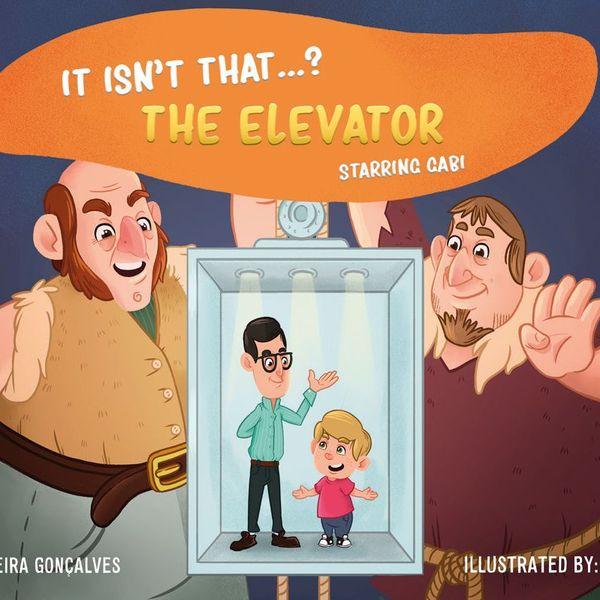 Imagem principal do produto Livro Digital Infantil em Inglês - Não é que - O Elevador