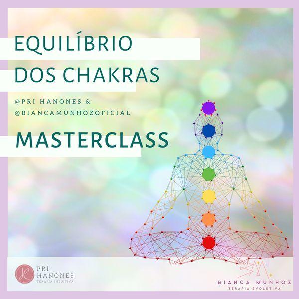 Imagem principal do produto Masterclass Equilibrando os chakras