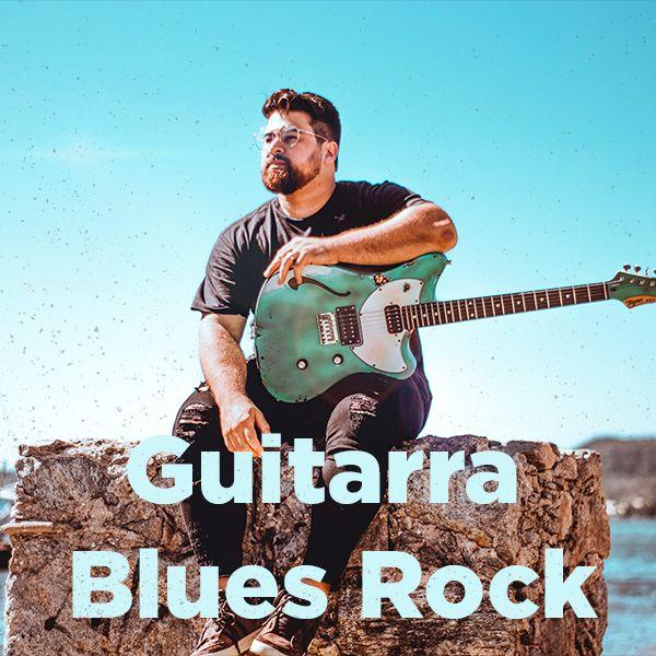 Imagem principal do produto Guitarra Blues Rock