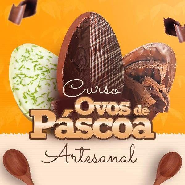 Imagem principal do produto Curso Ovos de Páscoa Artesanal