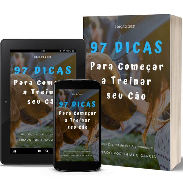 Imagem principal do produto 97 Dicas para começar a Treinar seu Cão