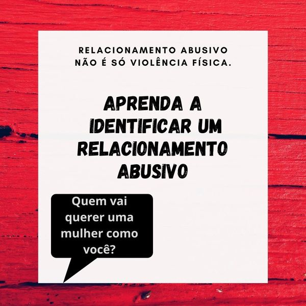 Imagem principal do produto Aprenda a identificar um relacionamento abusivo.