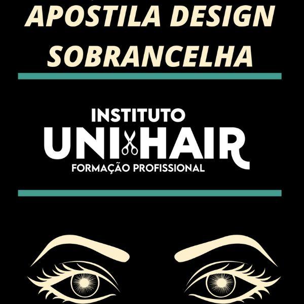 Imagem principal do produto Apostila Design de Sobrancelha