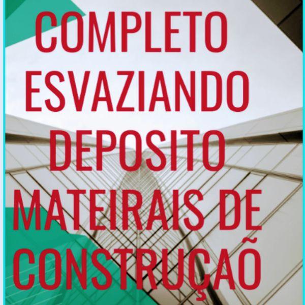 Imagem principal do produto GUIA COMPLETO ESVAZIANDO DEPÓSITO DE MATERIAIS DE CONSTRUÇÃO