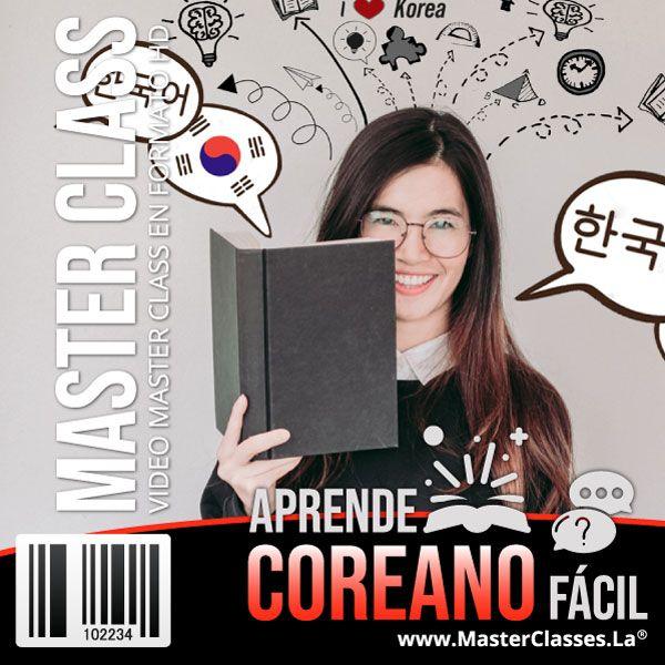 Imagem principal do produto Aprende Coreano Fácil