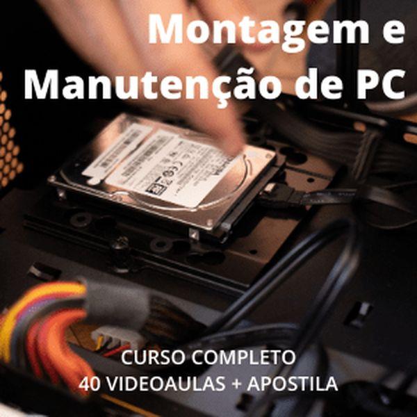 Imagem principal do produto Montagem e Manutenção de PC - Cursos