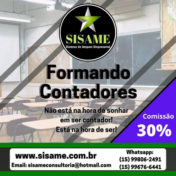 Imagem principal do produto Curso SISAME - Formando Contadores