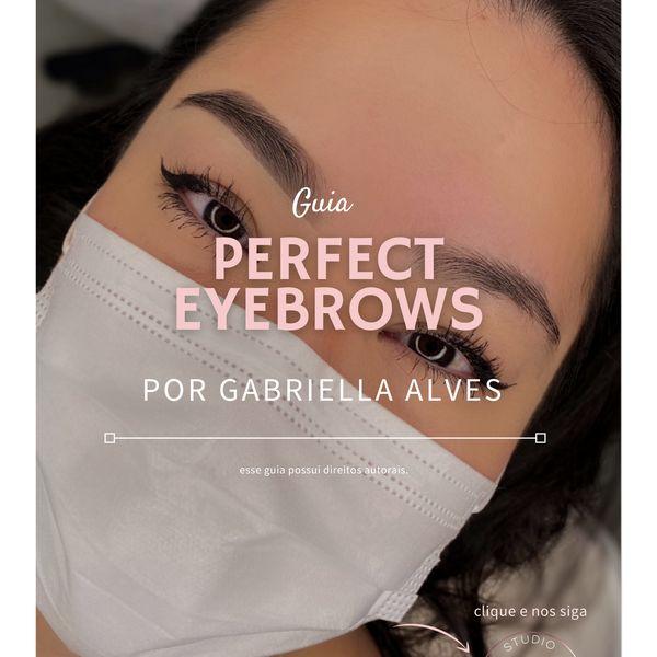 Imagem principal do produto Guia Perfect Eyebrows GABRIELLA ALVES