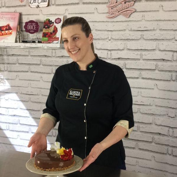 Imagem principal do produto Entremet - Torta Espelhada Francesa