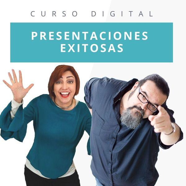 """Imagem principal do produto Curso Digital: """"Presentaciones Exitosas"""""""