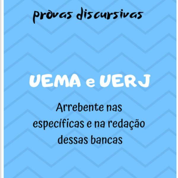 Imagem principal do produto GUIA PRÁTICO PARA PROVAS DISCURSIVAS (UEMA E UERJ)