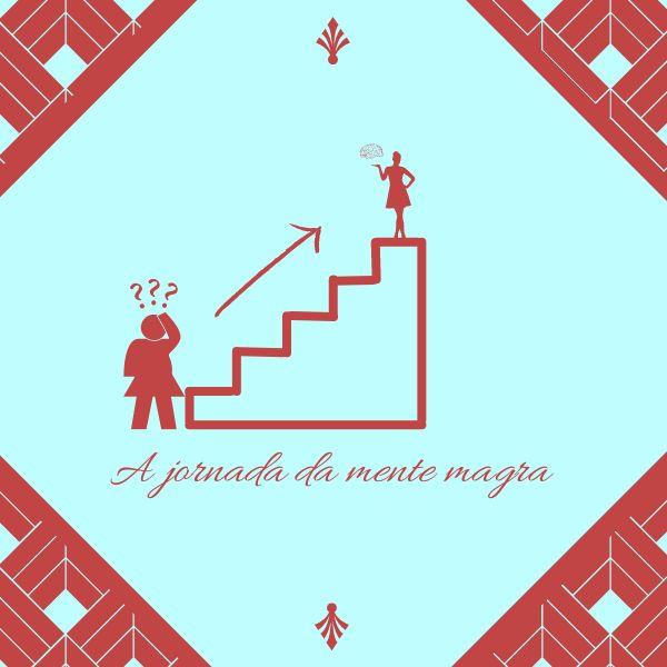 Imagem principal do produto A jornada da mente magra.