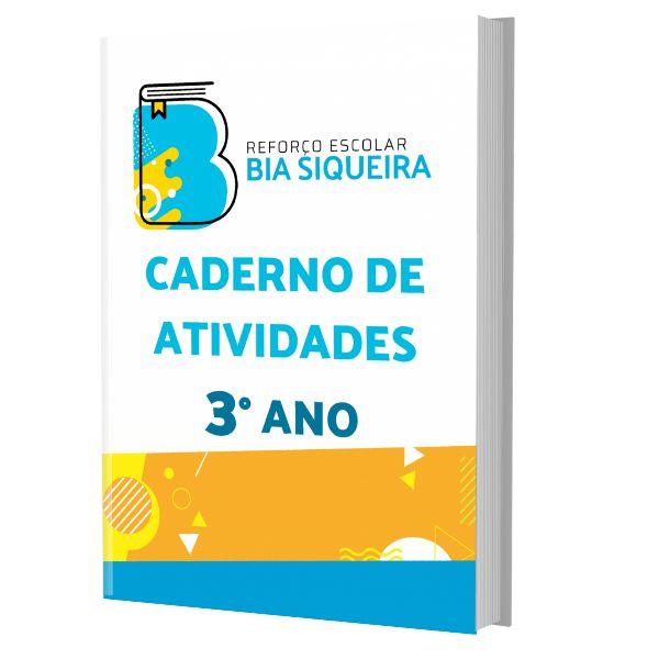 Imagem principal do produto  Caderno de Atividades do 3° Ano com 300 Atividades de Reforço Escolar